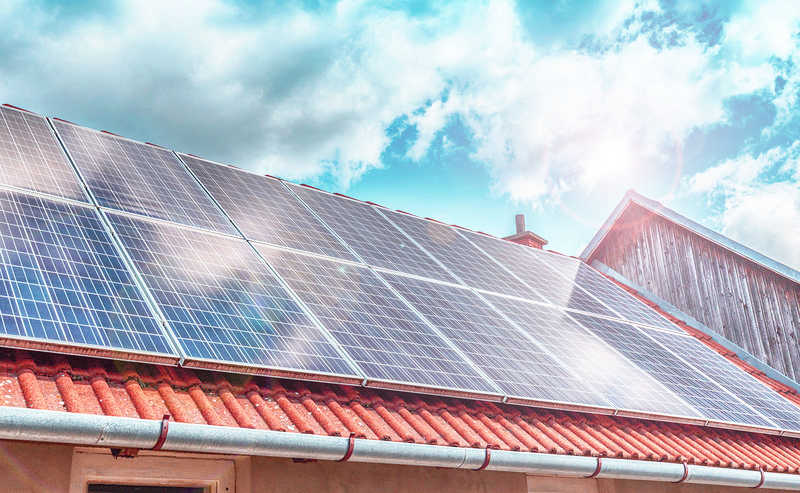 điện mặt trời năng lượng solar