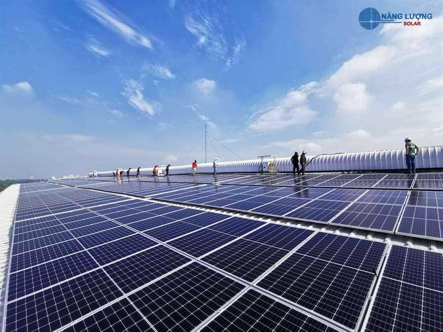 dự án điện mặt trời năng lượng solar