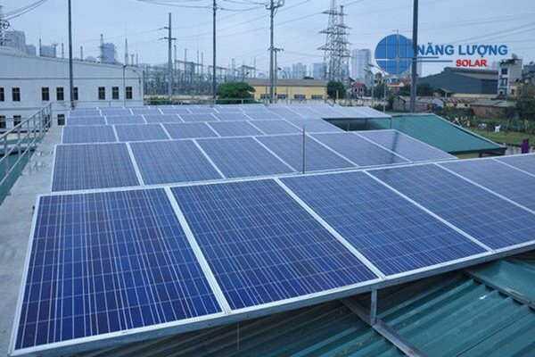 hệ thống điện năng lượng mặt trởi 5kw